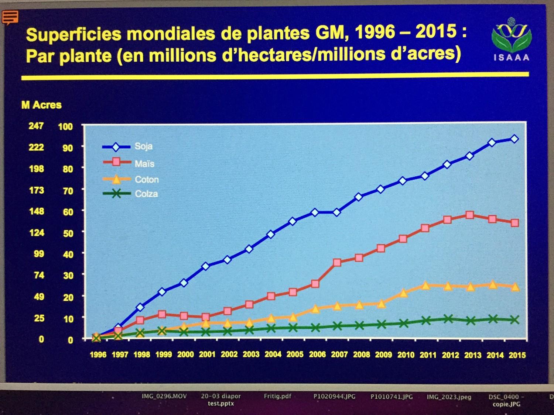 fig 3 _ les prinicpaux OGM végétaux